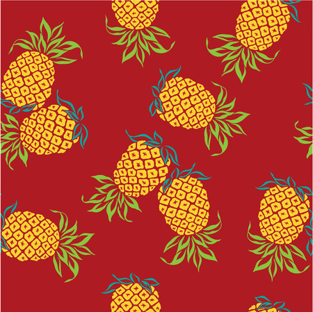 consecutive: pattern of pineapple,