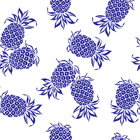 pattern of pineapple,