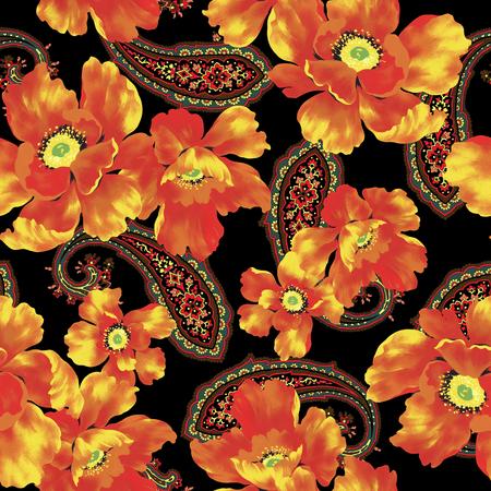 resplendent: illustration of flower