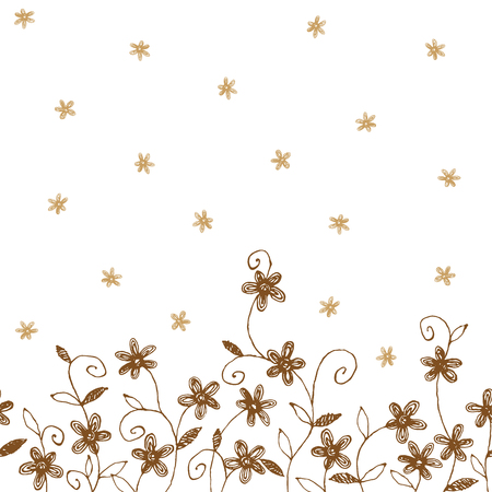 repeated: flower pattern