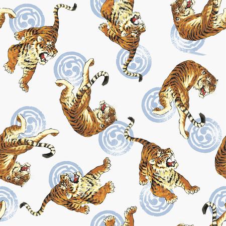 호랑이의 패턴