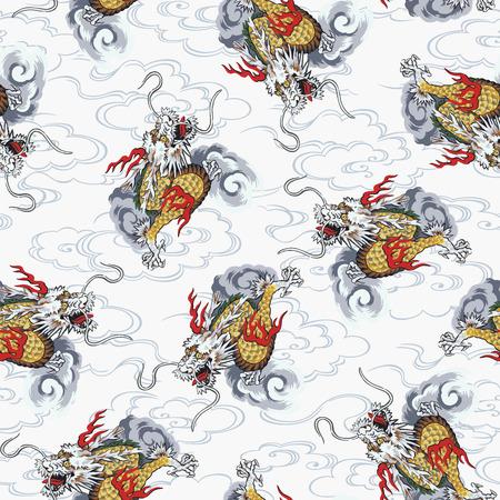 드래곤 패턴 용 패턴