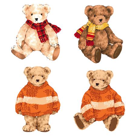 amiability: lovely bear Stock Photo