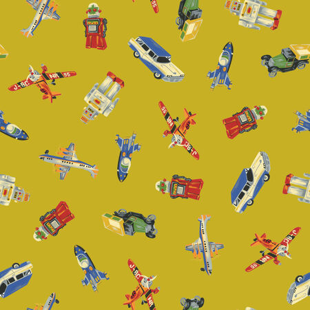 Pattern of toy Stock Photo