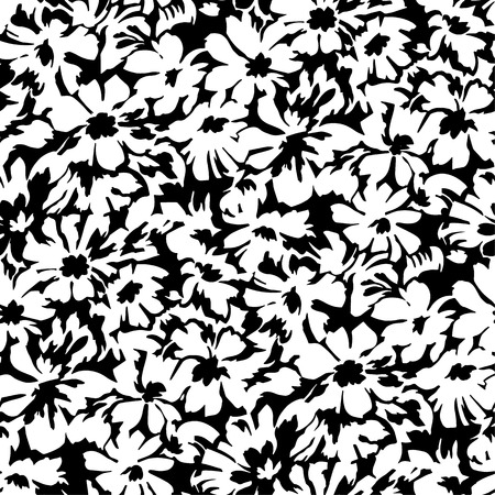simple geometry: Flower pattern Illustration