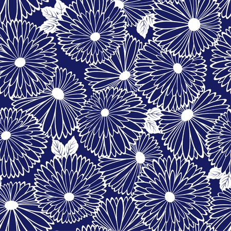 likely: Pattern of chrysanthemum Illustration