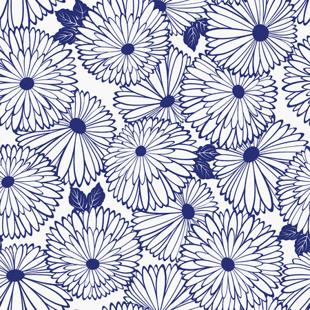 Pattern of chrysanthemum Illustration