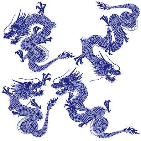 dragon: Japanese dragon