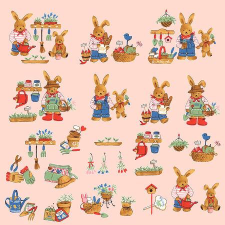 amabilidad: conejo encantador