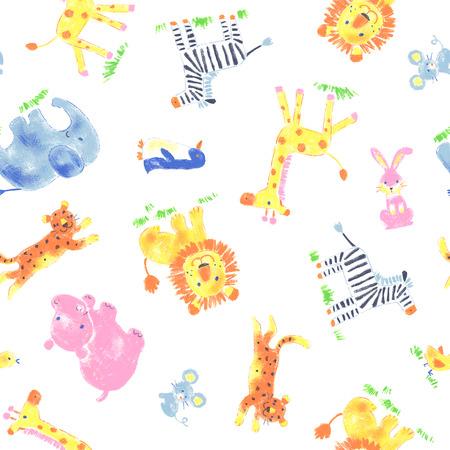 Pattern of animal