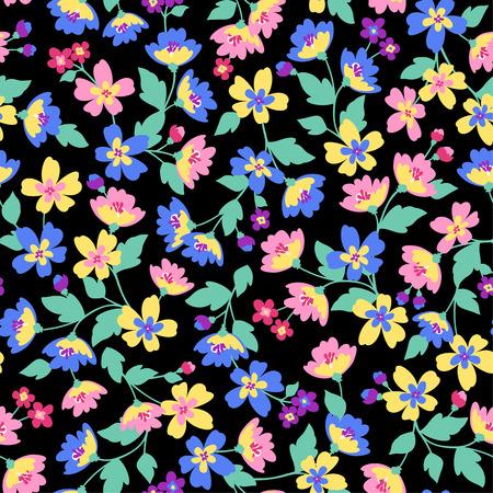 Flower pattern  イラスト・ベクター素材