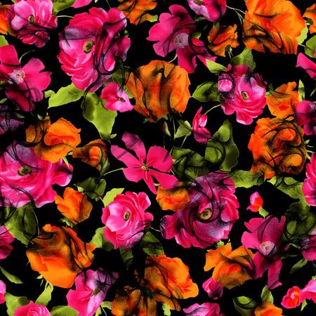 feminine floral flower: flower pattern
