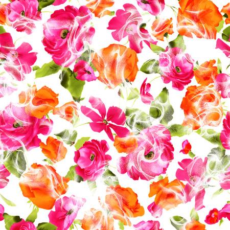 bonito: patrón de flores