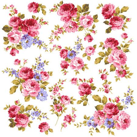 jardines con flores: imagen de la rosa