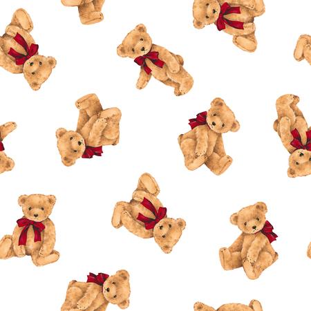 Pattern of bear Stockfoto