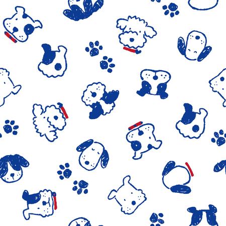 amiability: Pattern of dog