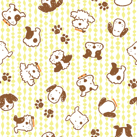 whim: Pattern of dog