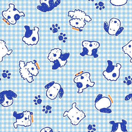 mischief: Pattern of dog