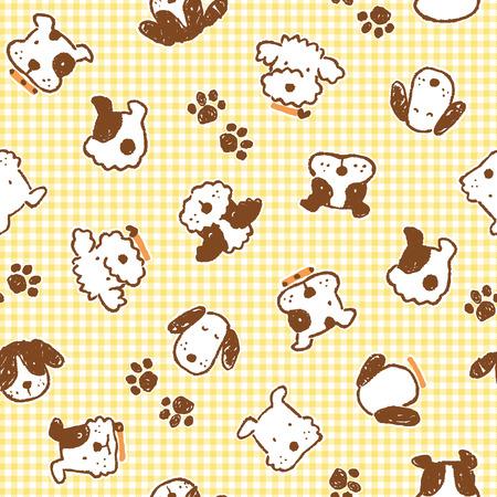 Pattern of dog