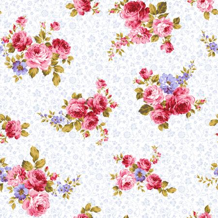 pattern of rose, Vettoriali