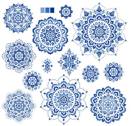 ethnic: Ornament material