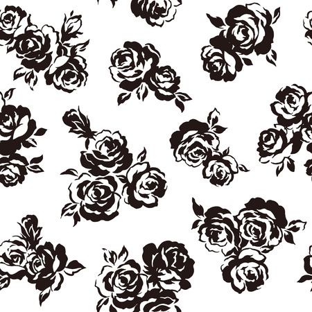 pattern of rose