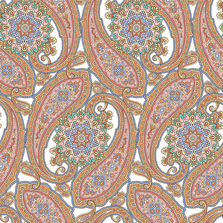 pattern paisley 일러스트