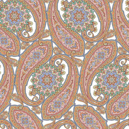 pattern paisley Иллюстрация