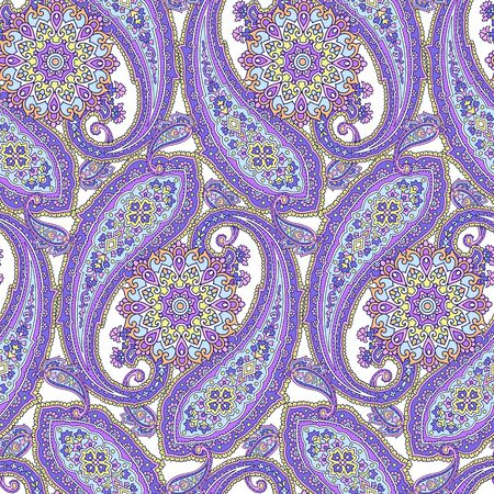 pattern paisley Ilustrace