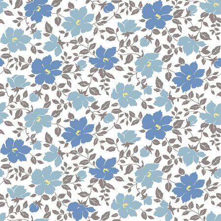 Flower pattern Illusztráció