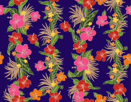 stunning: pattern of Hibiscus