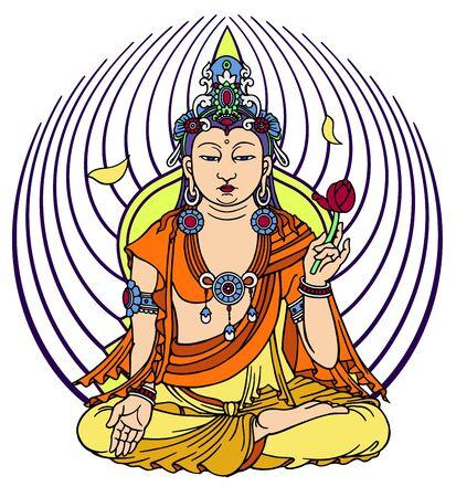 buddhist: Buddhist Illustration