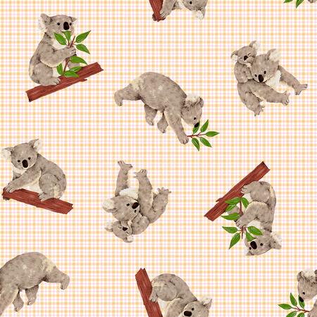 amiability: Koala pattern