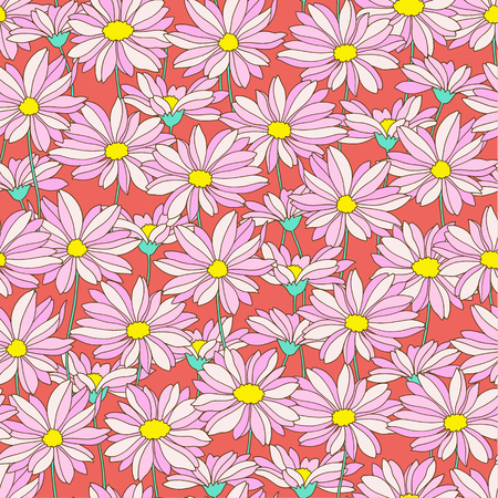 marguerite: Flower pattern Illustration