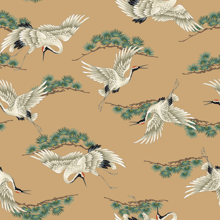 Japanese crane Stockfoto