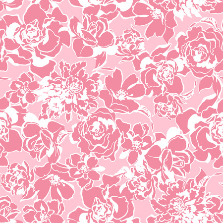 simplification: flower pattern