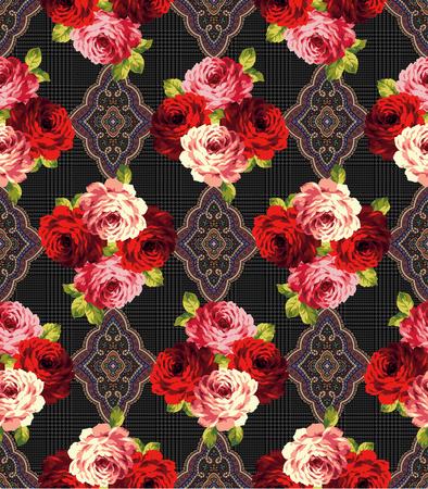 basic: Rose basic pattern,
