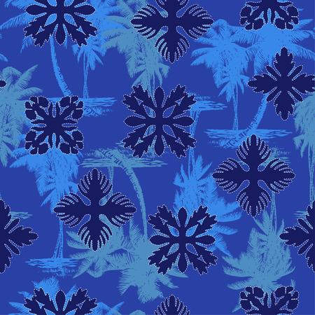 likely: Hawaiian quilt, Illustration