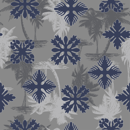 likely: Hawaiian quilt, Illustration
