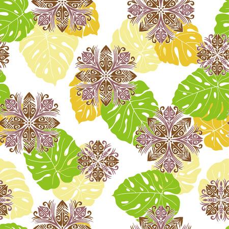 quilt: Hawaiian quilt, Illustration
