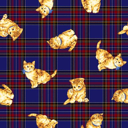 whim: Cat pattern