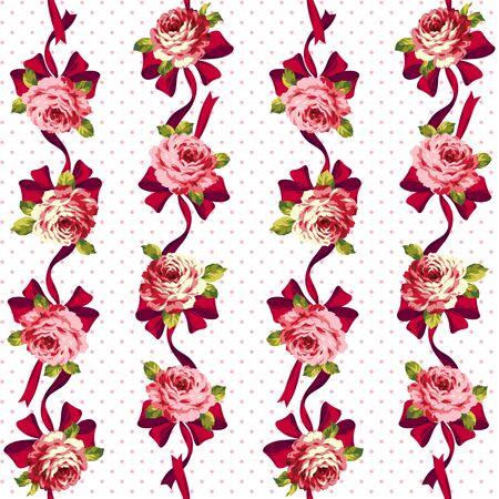 rose: Rose pattern Stock Photo