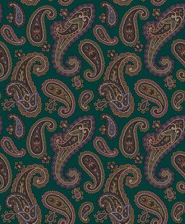 Paisley pattern photo