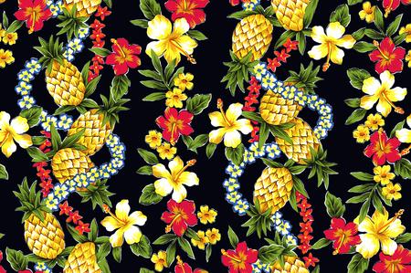 vigorous: Hibiscus pattern