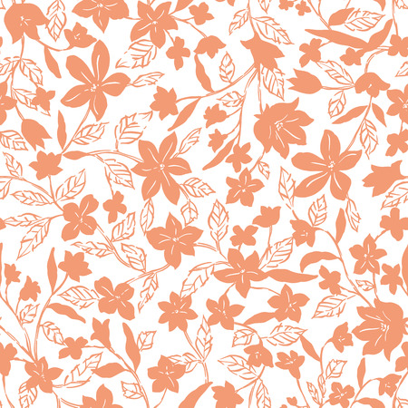 corsage: flower pattern