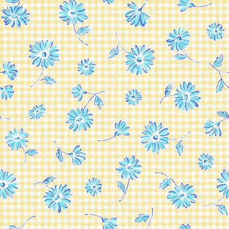 corsage: Flower pattern Stock Photo