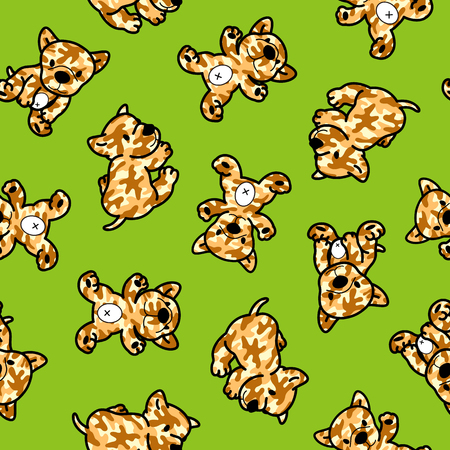 Dog pattern Vectores