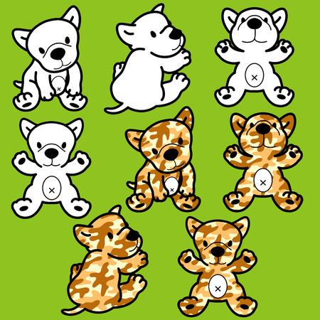 whim: Dog illustration Illustration