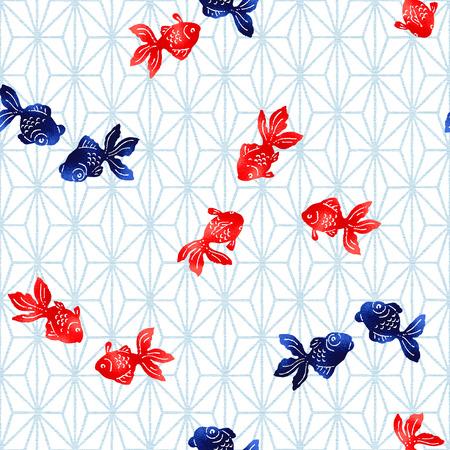 Elegant fish pattern