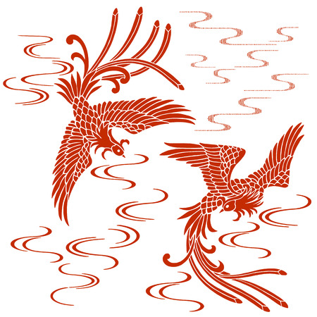 phoenix: Phoenix orientales Vectores